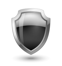 Empty Shield vector image vector image
