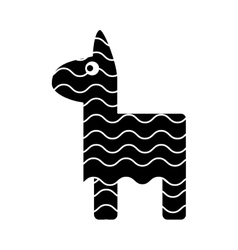 Isolated mexican pinata design icon vector