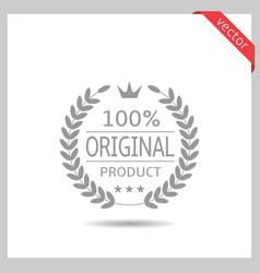 Original product icon vector