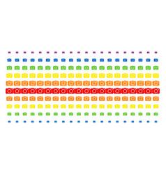 photo camera shape halftone spectrum grid vector image