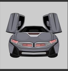 Sport car bmw i8 vector
