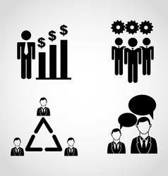 teamwork people vector image