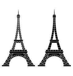 eiffel tower paris vector image