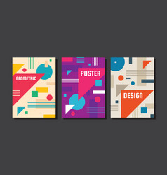 abstract concept background for poster brochure vector image