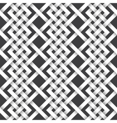 Abstract repeatable pattern background of white vector image