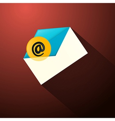 Email Envelope Icon vector image