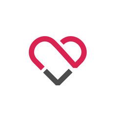 Letter capital t modern abstract creative logo vector