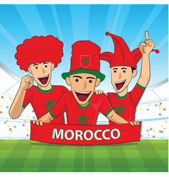 Morocco football support vector