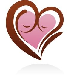 Motherhood icon and symbol vector
