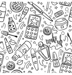 Makeup Coloring Page Vector Images Over 230