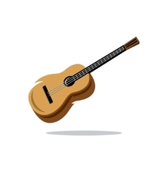 Guitar Cartoon vector image vector image