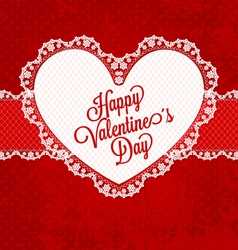 valentines card01 vector image