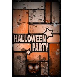 Halloween Poster Background vector image vector image
