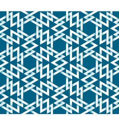 Abstract repeatable pattern background of white vector
