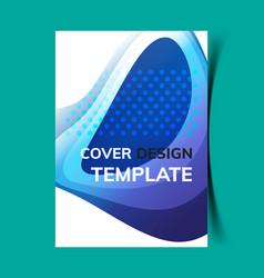 Cover design template10 vector