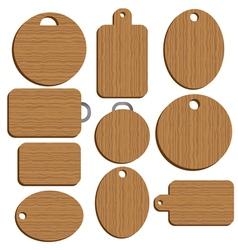 cutting kitchen Board vector image