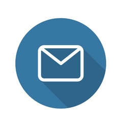 Envelope Mail Icon Flat Design vector image