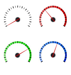 Gauge set of colored universal measuring scales vector