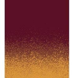 Graffiti spray painted burgundy orange gradient vector