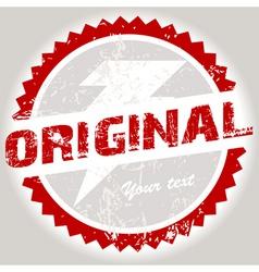 grunge stamp vector image