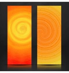Summer Orange Banner vector
