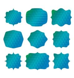 vintage sale label set design elements vector image