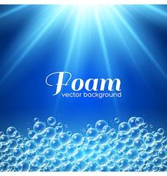 Foam Background vector image vector image