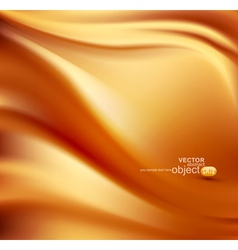 satin gold abstract background vector image