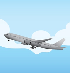 Commercial Aircraft 4 vector