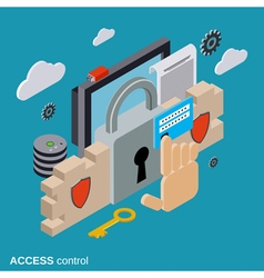 Computer security data protection access control vector
