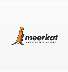 logo real estate simple mascot style vector image