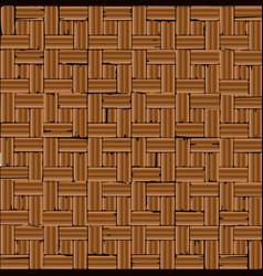 Red brick parquet flooring vector