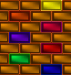 The wall of the ingot vector image