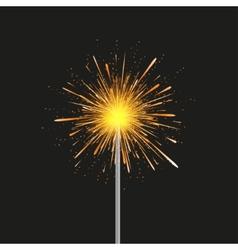 sparkler modern background Eps 10 vector image