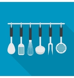 kitchenware utensil cooking tool vector image