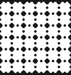 Polka dot seamless pattern rhombus vector
