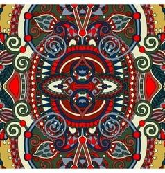 vintage floral ethnic decorative seamless pattern vector image