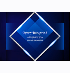abstract blue background in premium concept with vector image