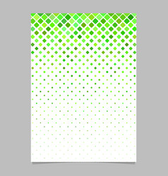 abstract square pattern brochure template vector image