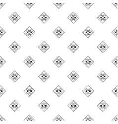 Buckle chrome pattern seamless vector