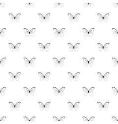 Butterfly pattern simple style vector