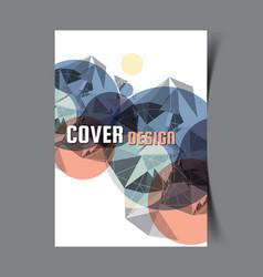 Cover design template16 vector