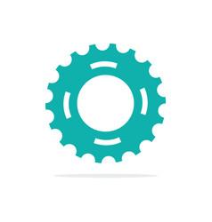 Gear design icon vector