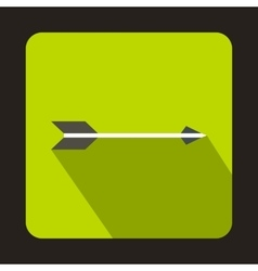 Hunting arrow icon flat style vector