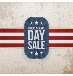 Independence Day Sale special Banner vector image