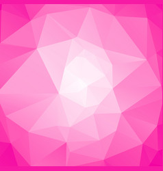 Pink poly abstract background vector