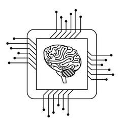 Processor circuit with brain vector