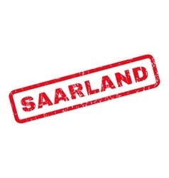 Saarland Rubber Stamp vector