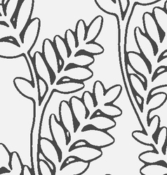 Seamless ivy pattern vector
