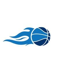 Basketball-Fire-380x400 vector image vector image